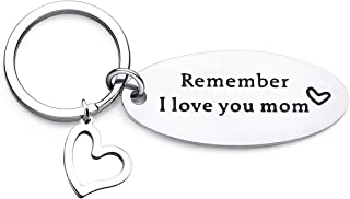 ALoveSoul Mom Gifts Remember I Love You Mom Keychain from Daughter or Son, Gift for Mom, Mom Birthday Gifts