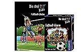 Kos mos Juego de 3 ladrones de fútbol y alarma de fútbol