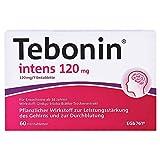 TEBONIN intens 120 mg Filmtabletten 60 St Filmtabletten