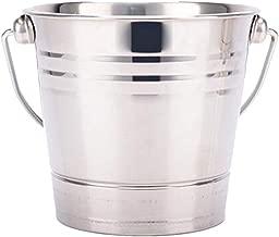 Baoblaze Stainless Steel Ice Bucket Champagne Wine Bucket Cooler for Bar Restaurant - 2.8L