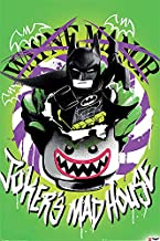 POSTER STOP ONLINE The Lego Batman Movie - Movie Poster/Print (Joker's Madhouse) (Size 24
