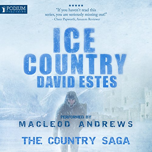 Ice Country audiobook cover art