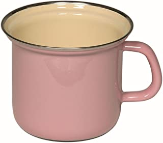 Riess 0269-006 Classic-Household Articments - Olla de colores pastel con borde cromado, 12 cm de diámetro, color rosa