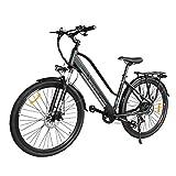 Macwheel Cruiser-550 700C Electric City Bike/Trekking Ebike 350W, Removable Lithium Battery 36V 10AH, Electric Bicycle Shimano 7 Speed...