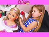 Diana Makes Up a New Doll!