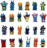 cheaaff Hand Modell Puppen Statuen 24-Teiliges Set 5 cm Anime Cartoon Slugterra Mini PVC Figur Jouet