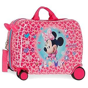 Maleta Infantil Minnie Help 2 Ruedas multidireccionales