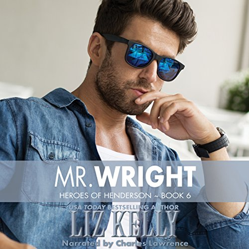 Mr. Wright audiobook cover art