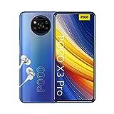 POCO X3 PRO Smartphone (16,94cm (6,67') FHD+ LCD DotDisplay 120Hz, 8GB+256GB Speicher, 48MP Quad-Rückkamera, 20MP Frontkamera, Dual-SIM, Android 11) Blau ( Frost Blue) [Exklusiv bei Amazon]