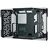 Cooler Master MasterFrame 700 Custom Test Bench/Open-Air ATX PC Case, Panoramic Tempered Glass, Premium Variable Friction Hinges, Built-in VESA Mount