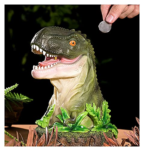 noyydh GRANDO DE HIGHGY Boy Realista REALISTE Dinosaur Band DE Moneda DE LUZ DE Juego para NIÑOS