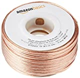 AmazonBasics - Cable para altavoces (calibre 16, 2x1,3 mm², 30,48 m)