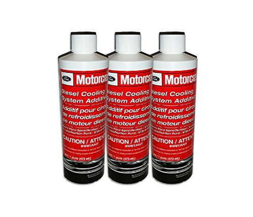 Motorcraft Ford Diesel Coolant Additive VC8 - 3 Bottles