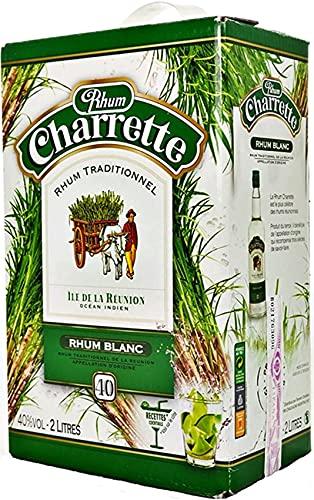 Charrette Ron Blanco 40% Box 2 Litros