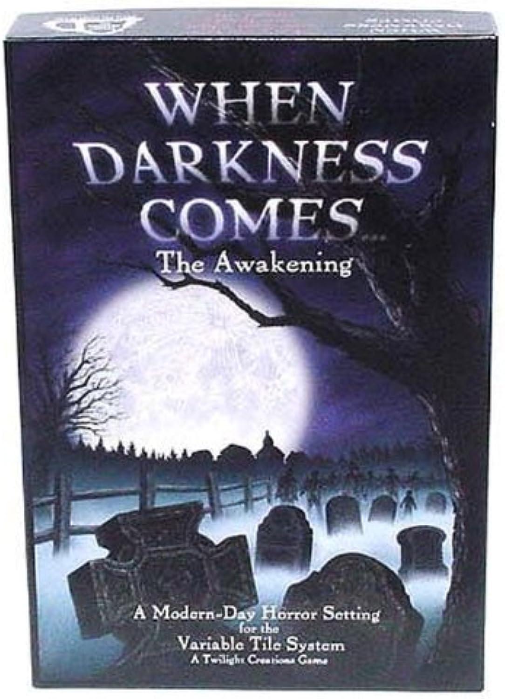 punto de venta de la marca When Darkness Comes...The Awakening Board Juego Juego Juego by Twilight Creations  alto descuento