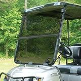 Yamaha G22 Tinted Fold Down Impact Resistant Windshield for Yamaha G22 Golf Cart