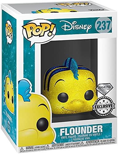 Funko POP! Disney: La Sirenita: Flounder Exclusivo