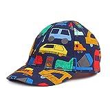 Pesaat Gorra de béisbol para bebé, con protección UV Impresión de coche 2-4 Años