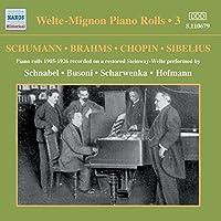 Welte-Mignon Piano Rolls 3