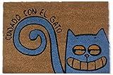 KOKO DOORMATS felpudos Entrada casa Originales, Fibra de Coco y...