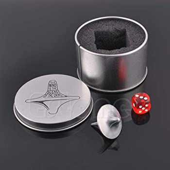 SODIAL Spinning Mouvement /électronique Perpetual Top Rotation Magn/étique Gyro D/écoration Inception Gyro Desktop Jouets Cadeaux