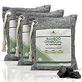 Bamboo Charcoal Air Purifying Bag - Natures Fresh Charcoal Air Purifying Bag - House Deodorizing Charcoal Bags - Deodorizers For Home - Nature Fresh Purifiers - Charcoal Deodorizer Bags - Car Purifier