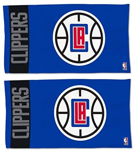WinCraft NBA Los Angeles Clippers offizielles Lizenzprodukt auf dem Court Bench Handtuch, 2 Stück