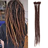DaisyQueenHair 20 Inch, 33# : Crochet Dreadlocks 20 Inch 5 Strands/Pack Handmade Dreadlocks