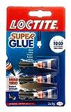 Loctite 1623820- Conjunto de tres pegamentos de 1 g
