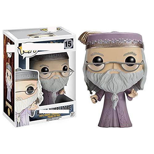 Anime Magic Academy Series Figuras Pop Harry Potter Albus Dumbledore # 15 Figura De Vinilo PVC Modelo Muñeca Regalos Boxde para Niños 10Cm