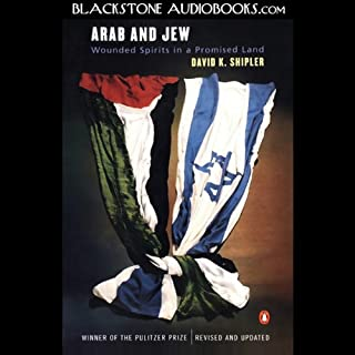 Arab and Jew audiobook cover art