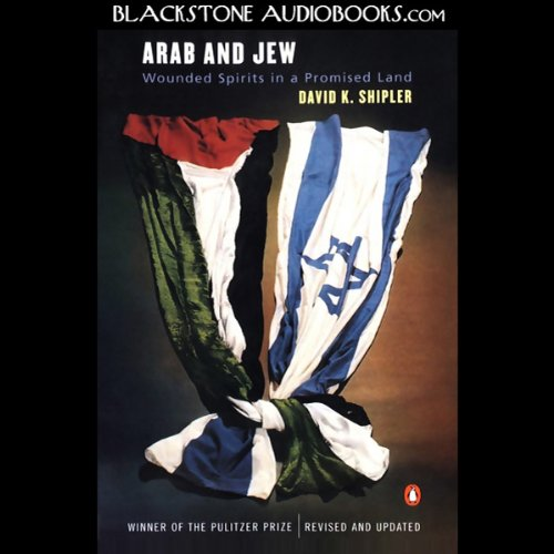 Arab and Jew audiobook cover art