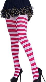 A1-Brave, Sexy Calcetines a Rayas Calcetines Largos Mujeres Largo del Muslo Caliente de Alta Tubo calcetín for Fiesta de Disfraces Divertidos Vestir Puntales