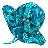 Jan & Jul Toddler Sun-Hat with UV Protection Boy Girl, Adjustable Size (M: 6-24 Months, Cool Tropical)