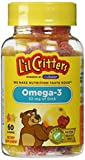 L'il Critters Omega-3 Gummy Fish 60 Each (Pack of 3)