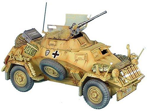 First Legion DAK022 Das Deutsche Afrika Korps German SdKfz 222 Light Armored Reconnaissance Vehicle - 15th Panzer Division