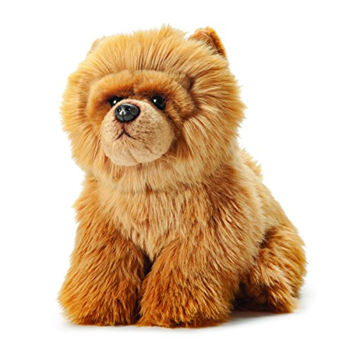Nat and Jules Sitting Large Chow Chow Dog Light Brown Children's Plush Stuffed Animal