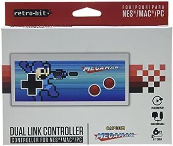 Retro-Bit Mega Man NES & USB Dual Link Controller