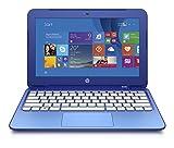HP Stream 11-D017NS - Portátil de 11.6' (Intel Celeron N2840, 2 GB RAM, HDD 32 GB eMMC + 1 TB One Drive, Intel HD, Windows 8.1 ), azul - Teclado QWERTY Español