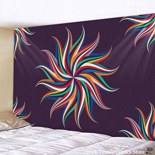 AdoDecor Tapiz de Mandala Indio para Colgar en la Pared, Manta de Manta de Playa de Arena, Tienda de campaña, colchón de Viaje, tapices de Almohadilla de Dormir Bohemia 150x100cm