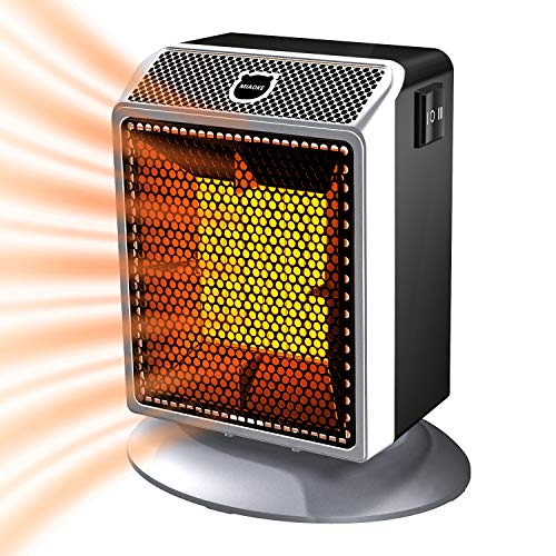 Space Heater, Energy Efficient Small Space Heater, Portable indoor...