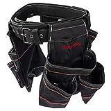 Dawoo Bolsa Herramientas Cinturon,Resistente, Para Carpintería y...
