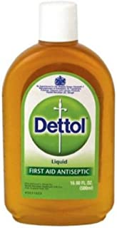 Dettol Liquid Antiseptic Disinfectant 500 Milliliter (Pack of 3)