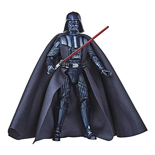 Hasbro Star Wars The Black Series - Darth Vader (Action Figure 15 cm da Collezione, Carbonized Collection, Ispirato al FilmHasbro Star Wars: L'Impero Colpisce Ancora)