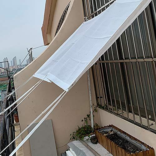 CHEEKQ Schattiernetz Balkon/Garten/Fenster Abdeckung, 90% UV-beständiges Sonnenschutz-Schattentuch, mit Abnehmbaren Ösen, 160 g/l (Size : 3m x 6m)