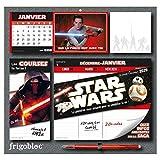 Frigobloc Star Wars 2020 - Calendrier d'organisation familiale (de janv. à déc. 2020): S'organiser n'a jamais été aussi simple !