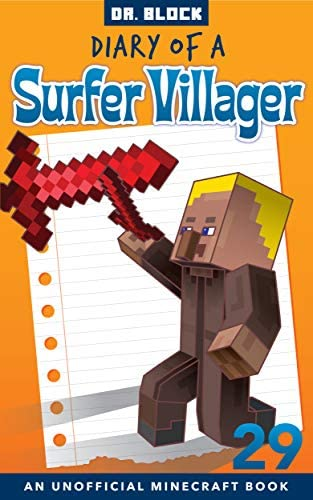 Diary of a Surfer Villager Book 29 an unofficial Minecraft book product image