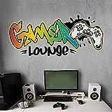 tjapalo® v172 Cooles Gamer Wandtattoo Gaming Zimmer Jungen wandtattoo gamer graffiti...
