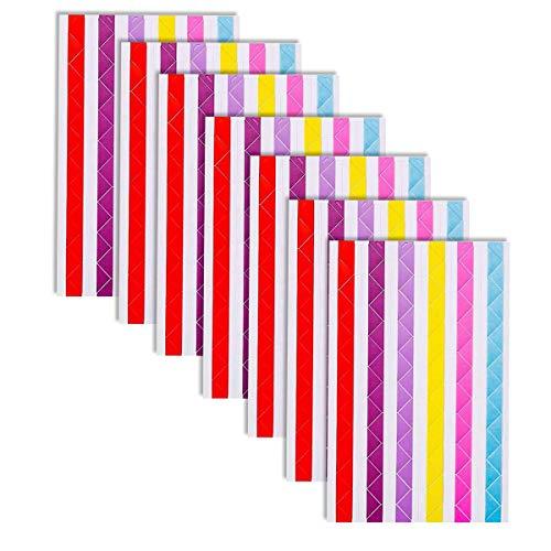 JieGuanG - Adesivi per foto ad angolo fotografico, 20 fogli fai da te (6 colori)