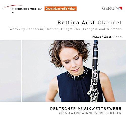 Bettina Aust Clarinet - Werke für Klarinette und Klavier - Deutscher Musikwettbewerb - 2015 Award Winner